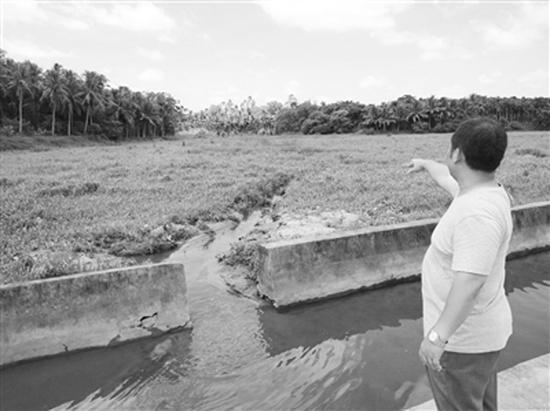 谭庆秋在一片野地里找到了儿子的遗体。揪心距离涵洞5.2公里外发现遗体
