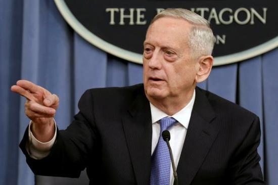 美国防部长马蒂斯