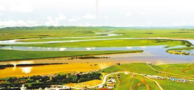 甘南藏族自治州一景。人民视觉