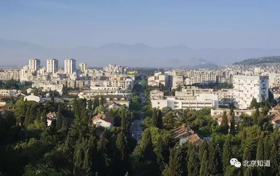 黑山首都波德戈里察。