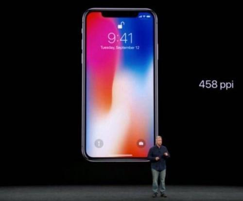 iPhone X 图片来源:苹果发布会