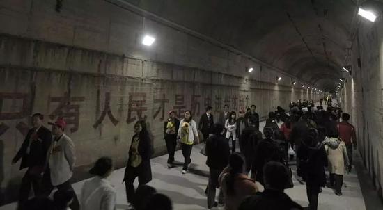 ▲地下核工厂内部(视觉中国)