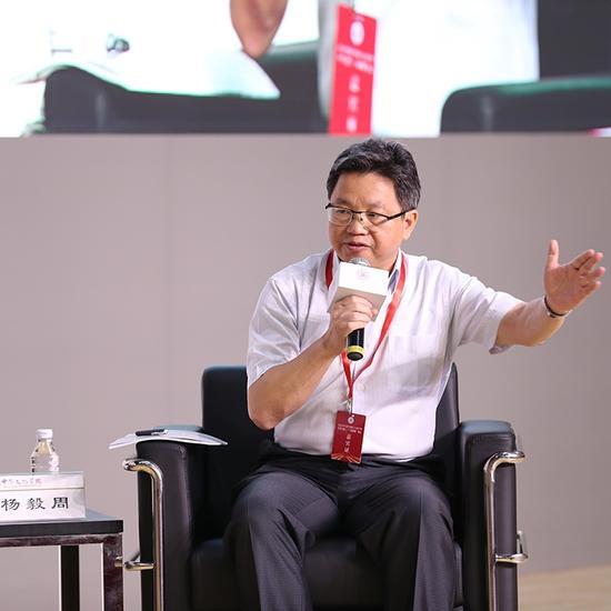 中华天下台湾同胞联谊会副会长杨毅周