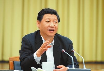 2014年5月10日,习近平总书记在河南考察,指导河南革新生长事情。记者杜小伟摄