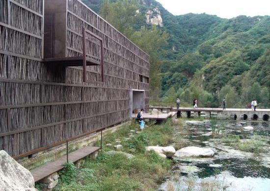 位于北京郊区的篱苑书屋。 本文图片 东方IC 资料