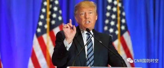 美国总统特朗普演讲(图片泉源网络)