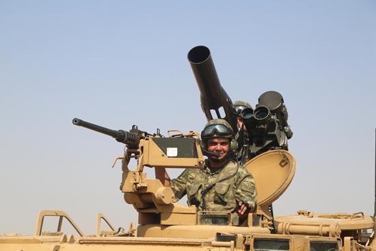 9月18日,土耳其武装部队总参谋部发布声明,土耳其军队当天起在紧邻伊拉克边境地区开展军事演习 </p> <p style=