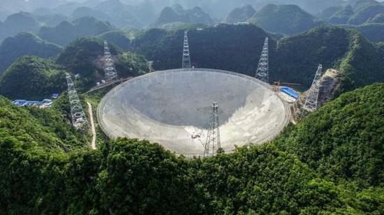 """""""天眼"""",天下最大单口径射电望远镜"""