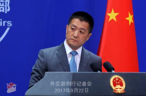 问:昨天,朝鲜外相在团结国表现,朝鲜可能会在太平洋试射一枚氢弹。你对此有何回应?
