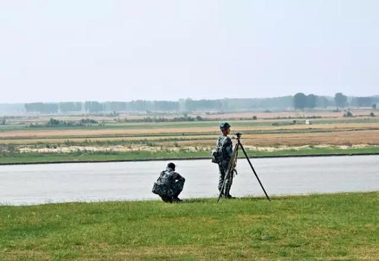 流经河南省开封市境内的黄河