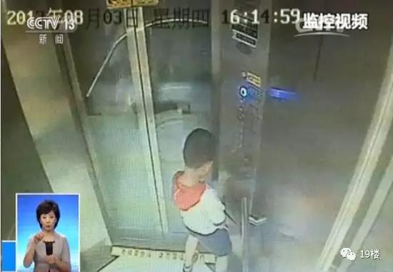 """""""尿停电梯""""男童已治愈康复 是4代单传有7个姑姑"""