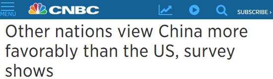 ▲美国消费者新闻与商业频道报道截图