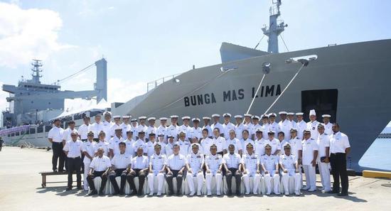 马来西亚皇家海军。(资料图)