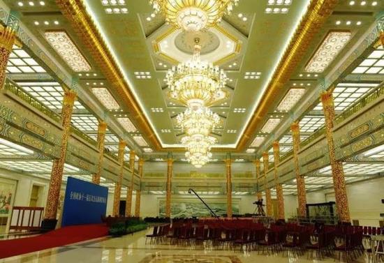 △ 政协新闻发布会首次进入金色大厅