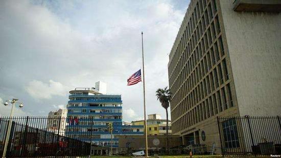 资料图:美股驻古巴大使馆