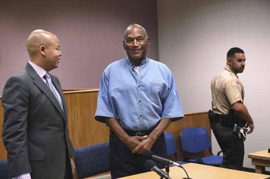 7月20日,辛普森在假釋聽證會上