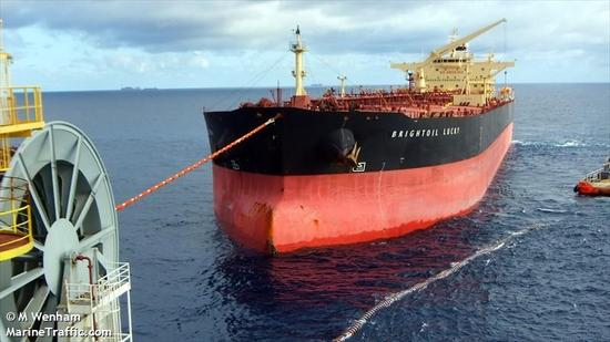 Brightoil Lucky号油轮(MarineTraffic网 图)