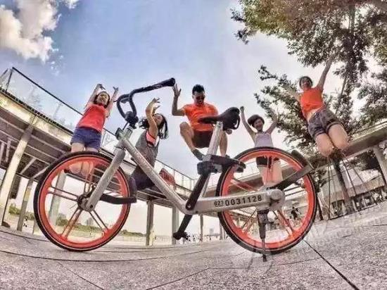 热点景区共享单车不添堵
