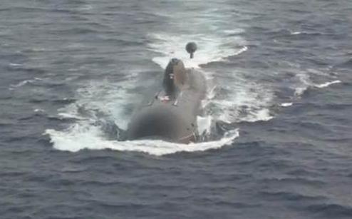 """印度""""查克拉-2""""核潜艇(台湾""""中时电子报"""")"""