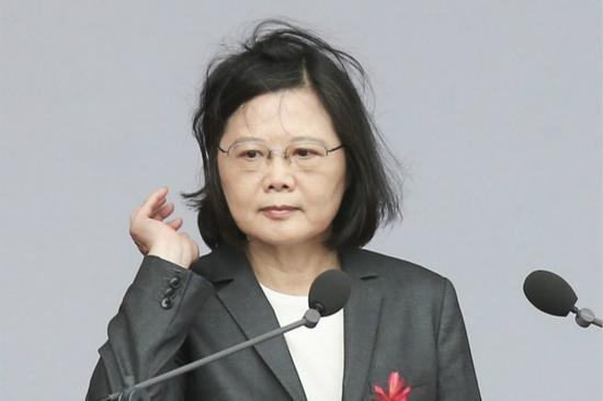 蔡英文(图片来源:台湾《联合报》)