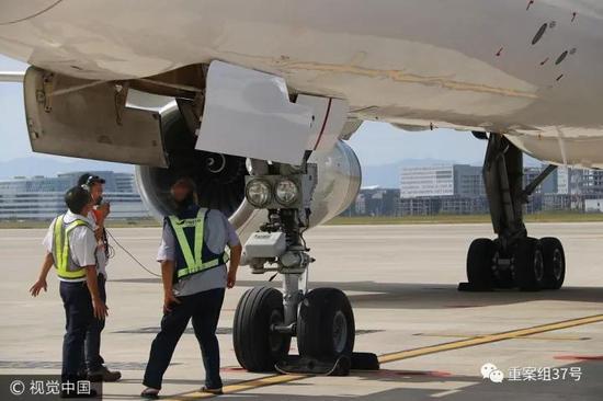 飞机盘旋是为了安全降落