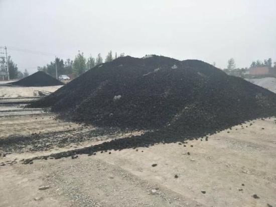 容城镇5个村洁净煤已经配送到村网点。