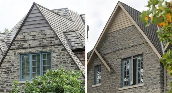 查普尼克家和柯舍布拉特家的房屋十分相似。