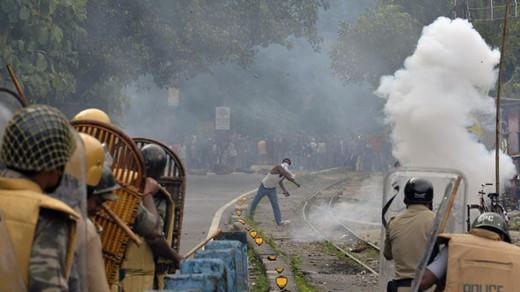 印度大吉岭动乱资料图