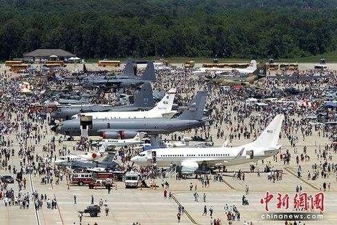 △美国空军公众开放日