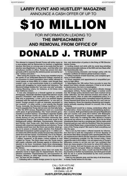为了吸引爆料者,弗林特开出了最高达1000万美元(约合6589万人民币)的悬赏金。