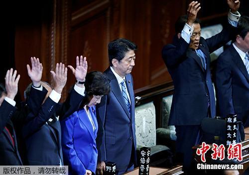 资料图:日本首相安倍晋三。