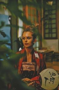 葛燕希的古装写真。
