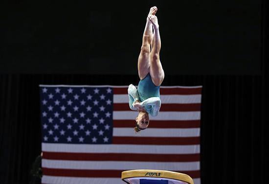 美国体操运动员。 东方IC 资料图