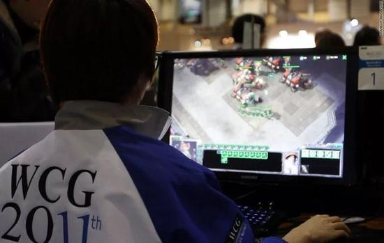 ▲韩国游戏玩家