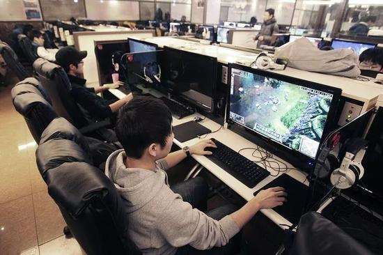 ▲中国游戏玩家