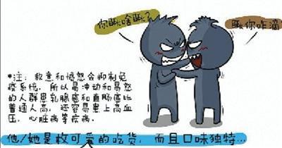 丁一的部分漫画作品,他希望能让病友读者减轻恐惧,同时也能起到科普作用。