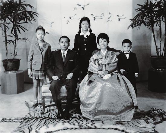 朴正熙家庭照