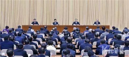 图为会议会场。记者郭昭摄
