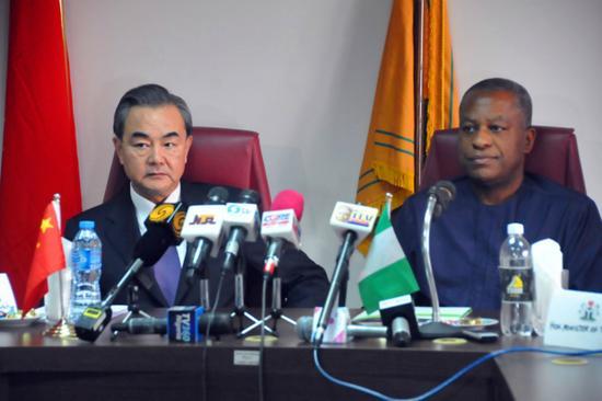 """尼日利亚今年初曾举行记者会,表示基于""""一中原则"""",不再承认台湾是个""""国家""""。(图片来源:中新社资料图)"""
