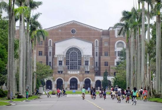 ▲台湾大学校园一角