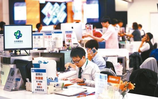 """台湾""""一例一休""""""""修法""""。(图片来源:台湾《联合报》)"""