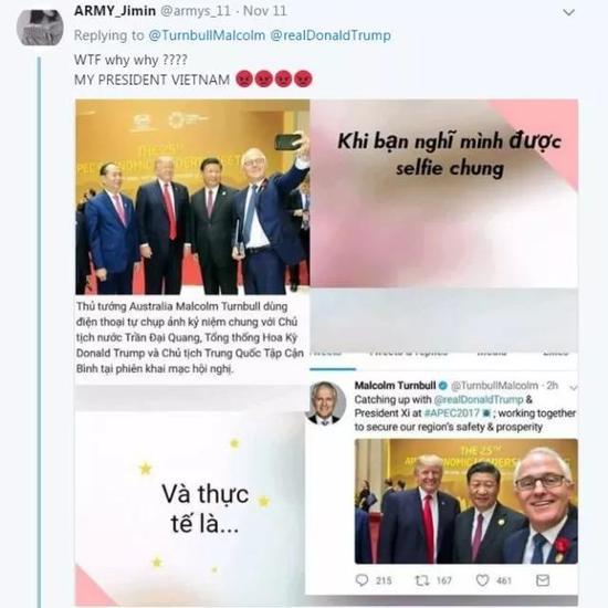 """有越南网友还质问他是不是""""看不起""""越南人。"""