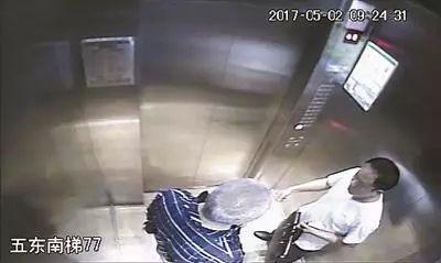 69岁段勇在电梯内吸烟,被邻居杨欢劝阻后突发心脏病死亡。图片来自网络
