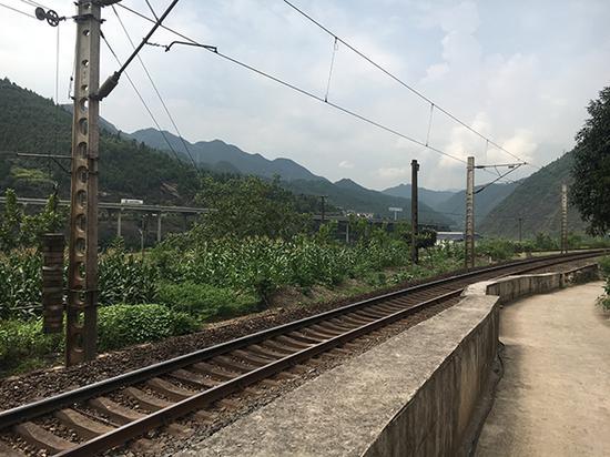四川省广元市朝天区望云村观音坝。