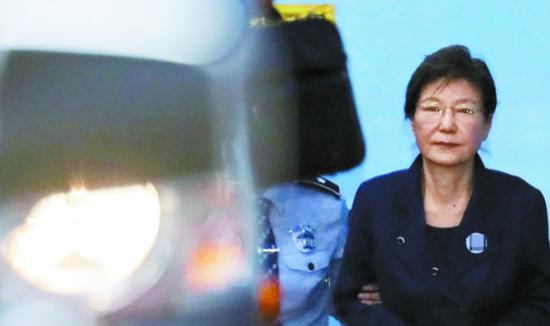 检方表示要严惩朴槿惠