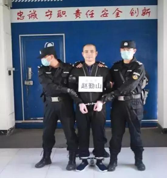 """犯罪嫌疑人赵勤山。 本文图片均来自""""宁夏检察""""微信公众号"""