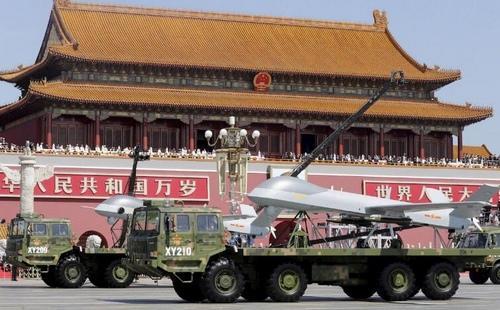 2015年中国抗战胜利日阅兵中的无人机方队