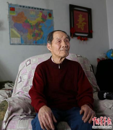 2015年2月11日,铁矛在北京的家中。赵迪/摄