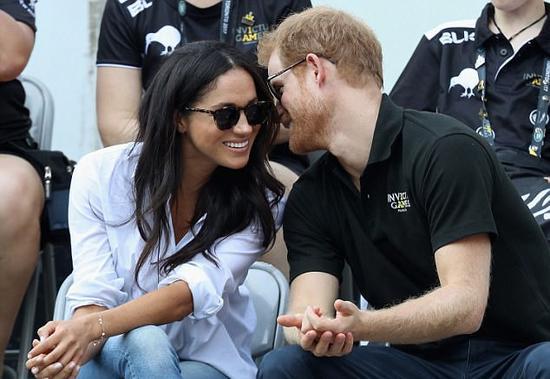 哈里王子与未婚妻