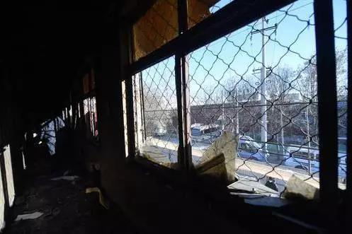 聚福缘公寓二层居住区(11月26日摄)。